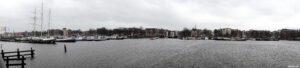 Amsterdam - zicht op Prins Hendrikkade